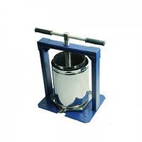 """Пресс """"Вилен"""" 20 литров (нержавеющая сталь) для производства сока в домашних условиях"""