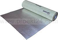 Изолон фольгированный самоклеющийся 10мм (Isolontape 300 LA, химически сшитый)