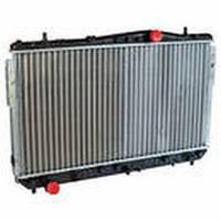 Радиатор водяного охлаждения Chevrolet Lacetti 1.6,1.8 механическая КПП (производство LSA)