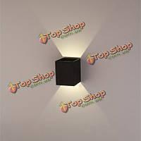 Современные 3вт черный LED площадь поверхности настенного светильника установка светильника