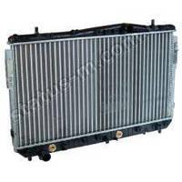 Радиатор водяного охлаждения Chevrolet Lacetti 1.8 16V автомат КПП до 2008, новый образ (пр-во AURORA,Польша)