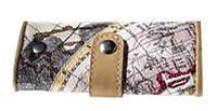 Ключница Бон вояж (Карта Мира), Tallulah Key Fob, 48064