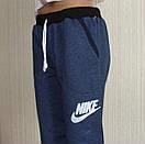 Детские спортивные штаны для подростка. Цвет джинс. Код 36-40., фото 2