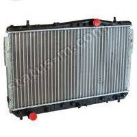 Радиатор водяного охлаждения Chevrolet Lacetti 1.8 16V механическая КПП до 2008, нов.обр (пр-во AURORA,Польша)