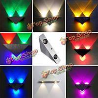 Современные наивысшей мощности 3W LED треугольник декор настенный светильник спот-бра