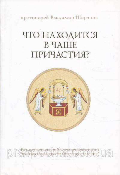Что находится в Чаше Причастия? Протоиерей Владимир Шарапов