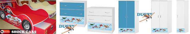 Детская мебель Дасти Летачки (Самолеты) купить от производителя с бесплатной доставкой по Украине!