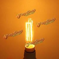 Лампа накаливания Эдисона Е14 шарик 40W теплый белый переменного тока 220В