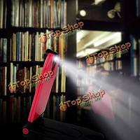 БС-015 мини LED свет книги лампа для чтения белый/черный/красный