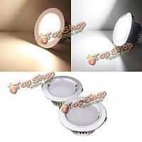 12w LED Светильники потолочные встраиваемые лампы затемняемый 110В + водитель