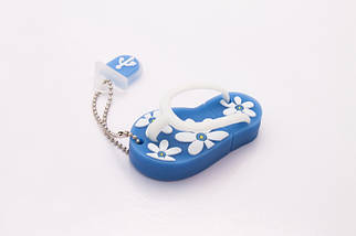 Флэшка Тапки 64 GB Синие, фото 2