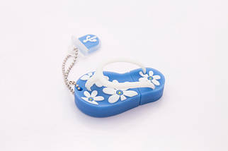 Флэшка Тапки 64 GB Синие, фото 3