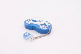 Флэшка Тапки 16 GB Синие, фото 2