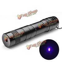 Лазерная указка фиолетовая регулируемая ЛТ-08883 5 МВт 405 нм