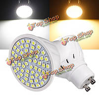 Лампа GU10 3вт 60 LED 3528 SMD чисто/теплый белый свет лампы лампы 110v