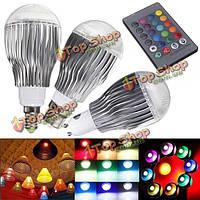 Е14 9вт RGB в LED волшебная Лампа лампы с ИК пульт дистанционного управления переменного тока 85-265в