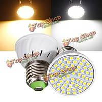 Е27 3вт 60 LED 3528 SMD чисто/теплый белый свет лампы лампы 110v