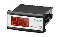 Электронный вольтметр TENSE щитовой панельный 78х36 цена переменного тока вольтметры цифровые шкаф