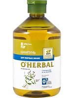 Шампунь O'Herbal для вьющихся и непослушных волос