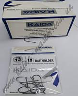 Крючки Kaida размер 10, крючок одинарный, крючки для рыбалки на карпа, крючок для удочки