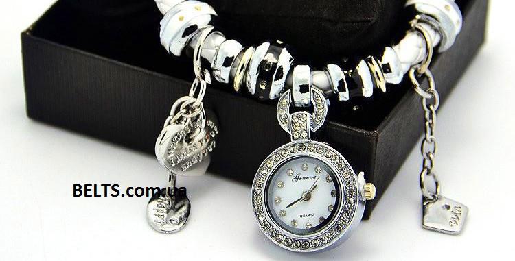 Часы браслет пандора купить в украине часы наручные женские леопардовые