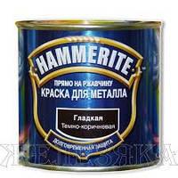 Краска Hammerite (Польша) глянец темно-коричневая 0.700л. Арт. AD-80.022