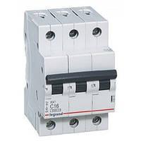 Автоматичні вимикачі Legrand 3-полюсні
