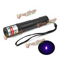 Указка ларерная фиолетовый свет ЛТ-850 405нм 1*16340 1/5 МВт