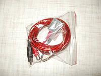 Кабель пациента с электродами для  аппарата Поток -01 М, Кабель пациента пара + и -для многоразовых электродов