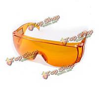 Желтые очки лазерной защиты для 473nm синий свет лазерной указки