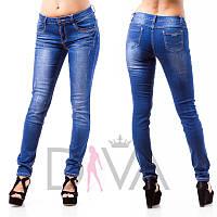 Джинсы красивые женские F-1608 магазин женских джинсов