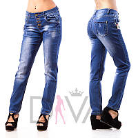 Узкие джинсы лето женские L8017