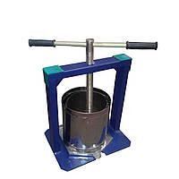 """Пресс """"Вилен"""" 6 литров (нержавеющая сталь) для производства сока в домашних условиях"""