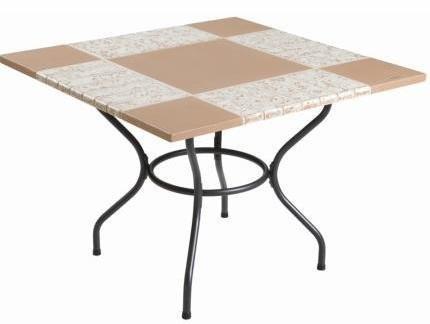 Столы для кафе каменные 100х100 см