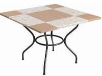 Столы для кафе каменные 100х100 см, фото 1