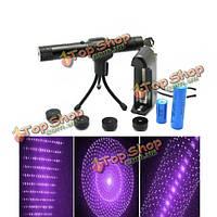 Фиолетовая лазерная указка регулируемая 405нм 1 мВт 5 мВт