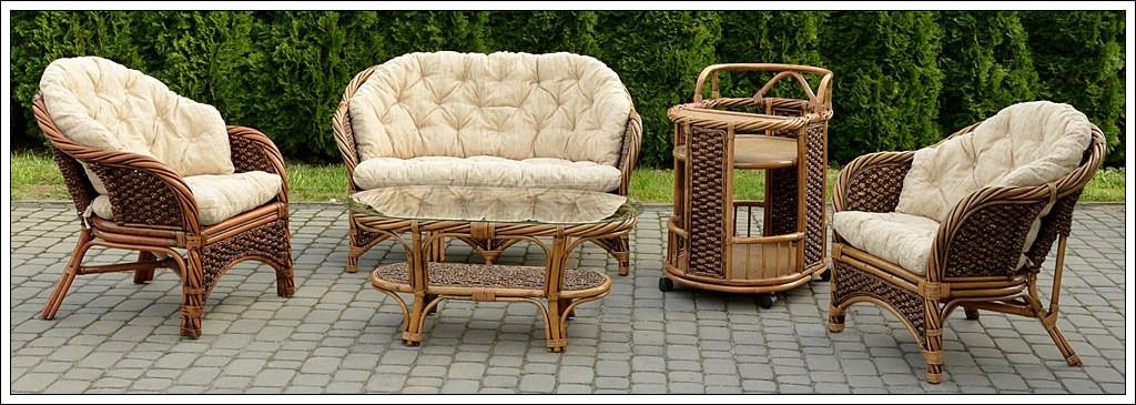 Комплект мебели из ротанга Bahama Club Set