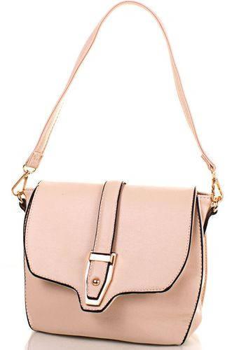 Замечательная сумка-клатч из качественного кожзаменителя ANNA&LI (АННА И ЛИ) TUP14256-12-1 (бежевый)