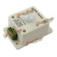 12V-24V инфракрасный движения PIR датчик выключатель контроллер для полосы света