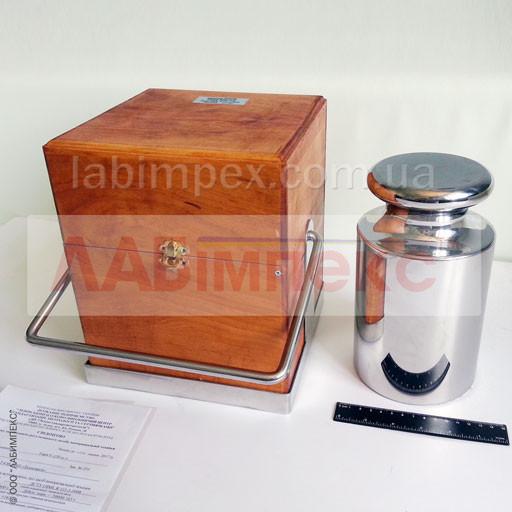 Гиря калибровочная 20 кг F2 для весов лабораторных