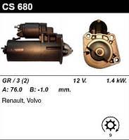 Стартер на RENAULT Laguna, Safrane II, VOLVO 850, C70, S40 I, S60, S70, V40, V70, XC90, XC70, 0001107076