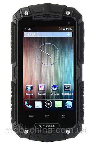 Смартфон Sigma mobile X-treme PQ16 Dual Black , фото 2
