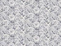 Обои на стену, винил на флизелине, горячего тиснения, Роза 305-10, 1,06*10м