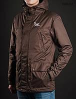 Весенне-осенняя куртка (парка) Staff - Membrana brown Art. BR0001 (коричневый)