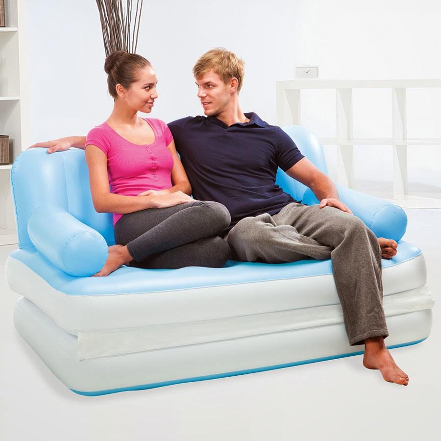 Надувная кровать диван трансформер 5в1 bestway 75039 188 х 152 х 64 см.