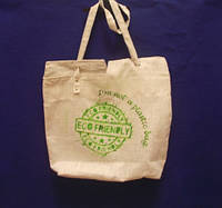 Тканевая сумка с рисунком , ручная работа
