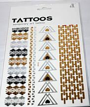 Флэш-тату(Flash Tattoos)  № TS-001