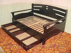 """Полуторная кровать из натурального дерева """"Луи Дюпон - 2"""" от производителя, фото 2"""