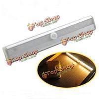 LED датчик движения PIR шкаф шкаф шкаф шкаф ночник