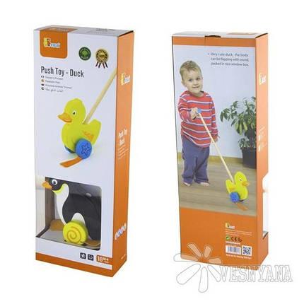Игрушка-каталка Viga Toys Пингвин 50962, фото 2